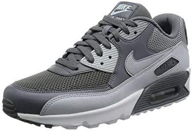 4829617b1e NIKE Men's Air Max 90 Essential Running Shoes, Multicolor (Cool Wolf Grey /Pure