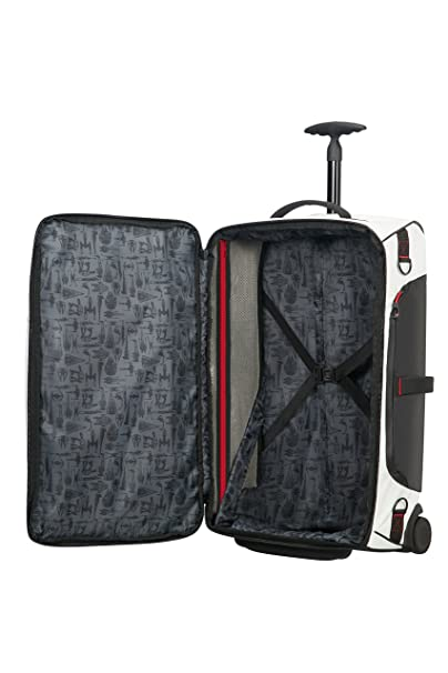 Disney by SAMSONITE - Paradiver L - Star Wars Duffle à roulettes Bag, 79 cm, 121.5 liters, Multicolore (Star Spaceships White)