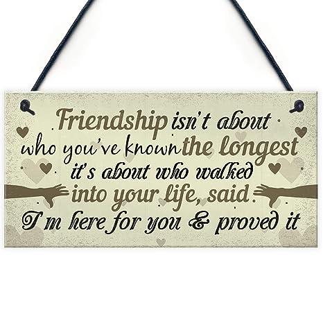 Amazon.com: Placa de regalo de amistad para el mejor amigo ...