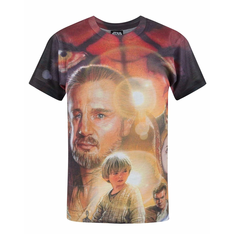 49ea4103 ... Sublimation t shirt designs by artists worldwide Calm Hero Shot Source  · Amazon com Star Wars Childrens Boys Official Phantom Menace