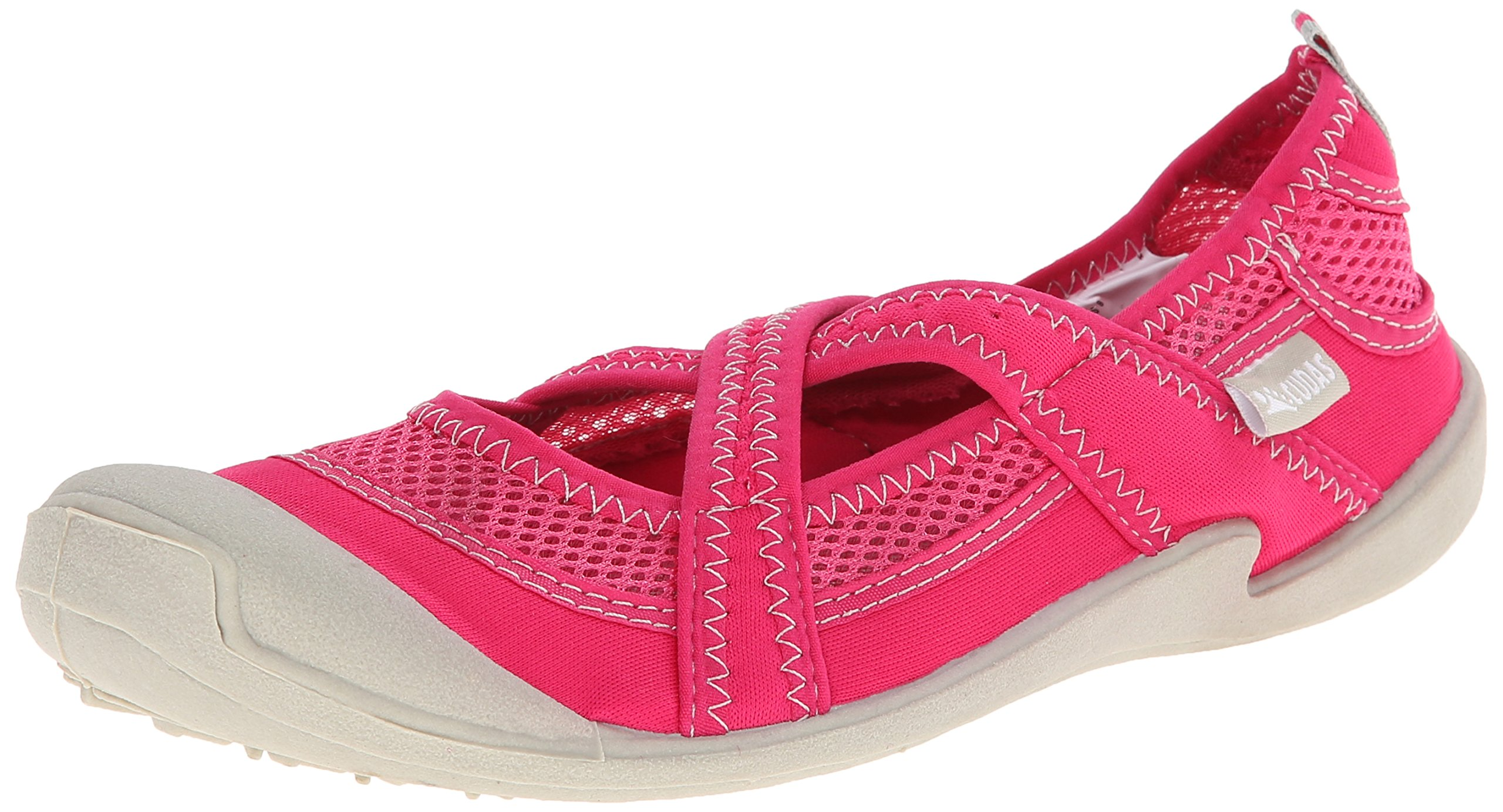 Cudas Women's Shasta Fisherman Sandal, Pink, 9 M US