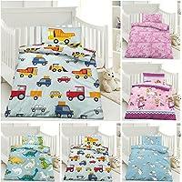 Kinder Bettwäsche, Babybettwäsche 100x135 cm + 40x60 cm 100% Microfaser für Jungen und Mädchen in verschiedenen Designs