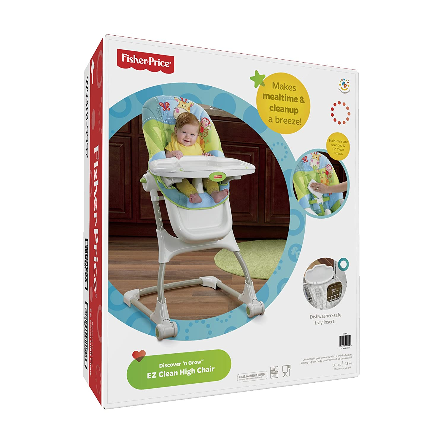 Amazon Fisher Price Discover n Grow EZ Clean High Chair