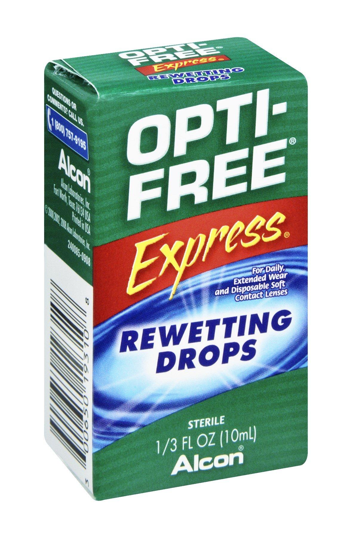 Alcon Opti Free Exp Rewetting Drops
