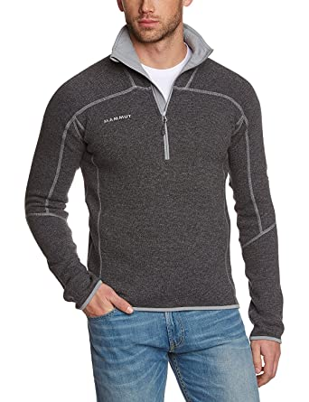 promo code 2d3c9 d4fef Mammut Mens Phase Zip Pull Pullover - Grey: Amazon.co.uk ...