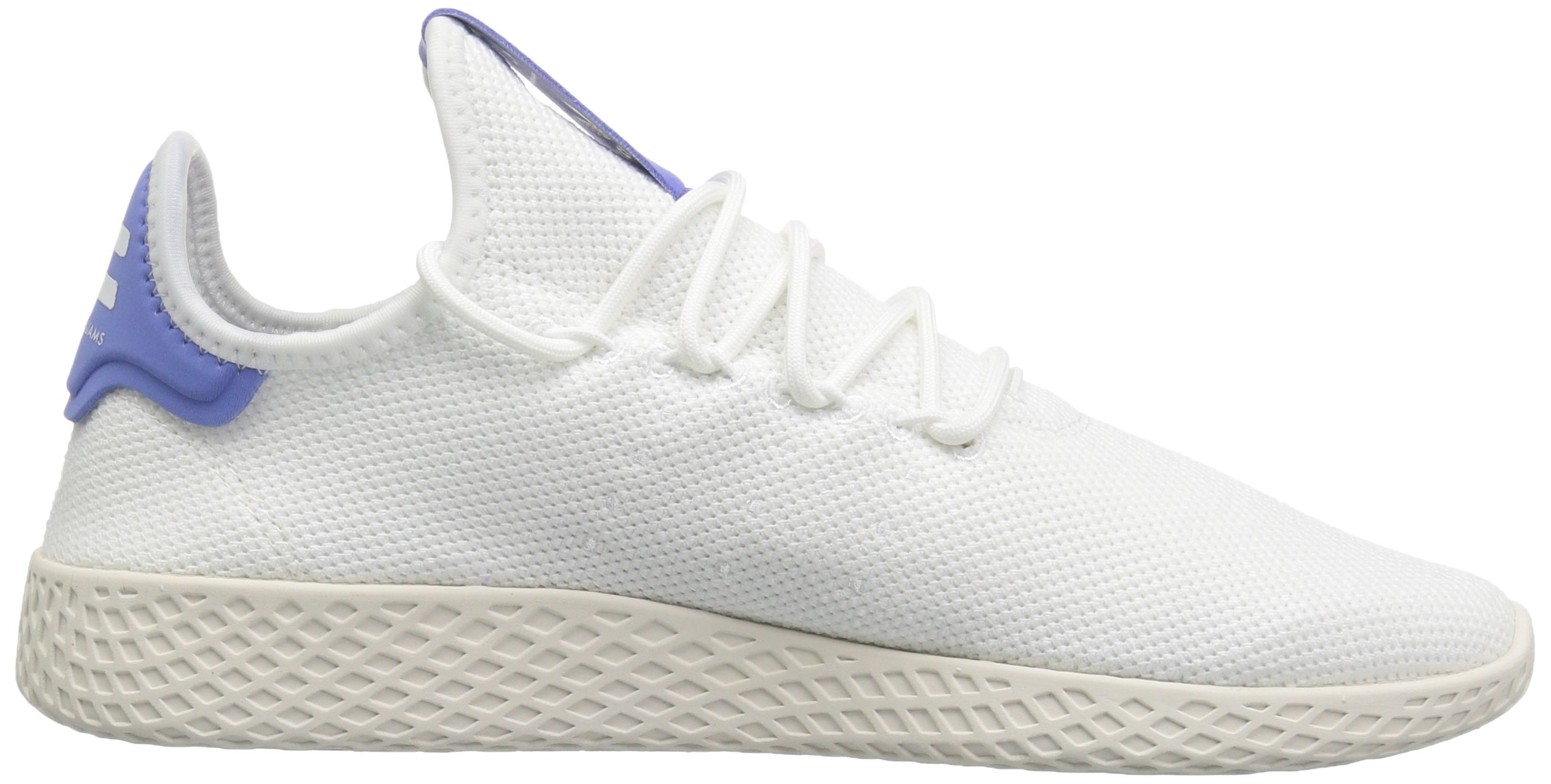 adidas Originals Men's Pharrell Williams Tennis HU Running Shoe, White/Chalk, 5.5 M US by adidas Originals (Image #6)