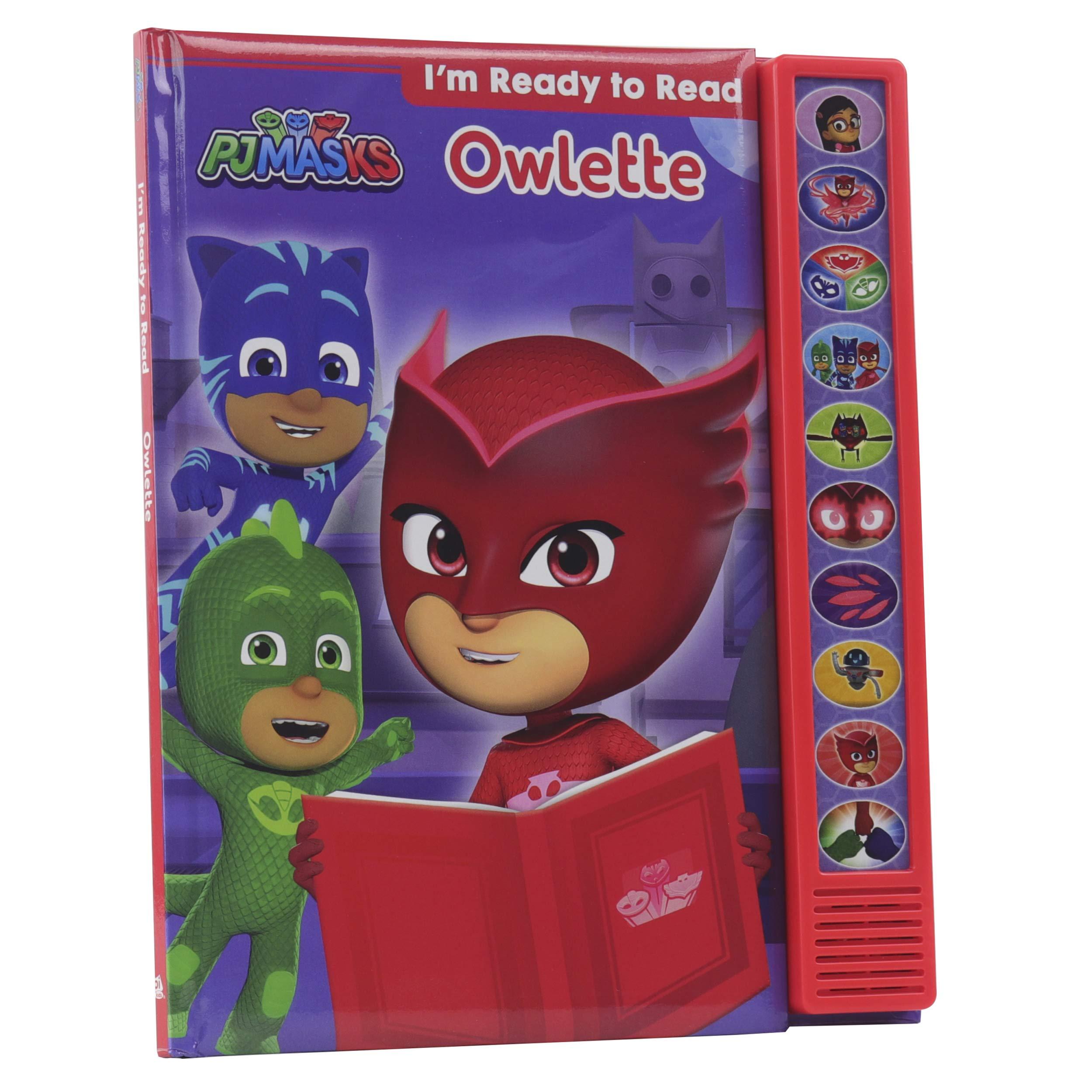 Pj Masks: Owlette: Im Ready to Read (Play-A-Sound) : Pi Kids ...