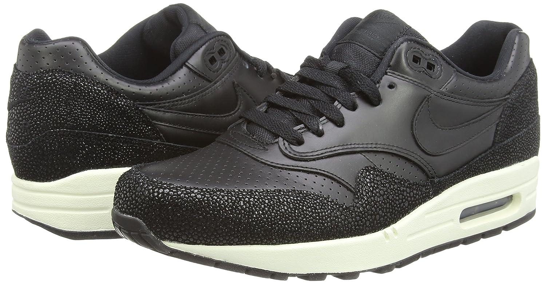 Nike Herren Air Max 1 1 Max Leather Pa Laufschuhe Schwarz 40 EU-46 EU fc3cb9
