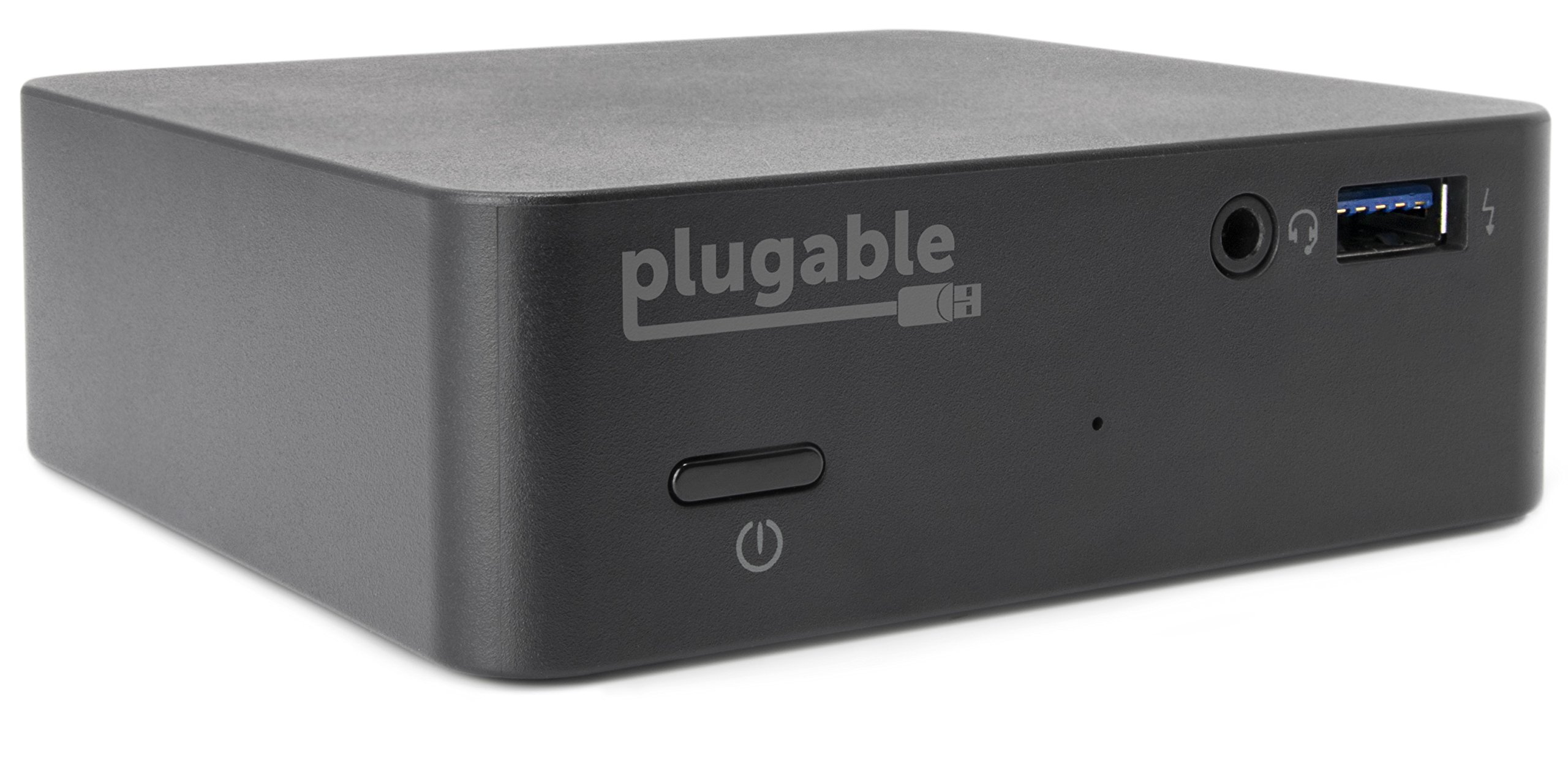 Plugable USB-C Mini Docking Station with 85W Charging for Thunderbolt 3 and USB-C MacBooks and Select Windows Systems (HDMI up to 4K@30Hz, Gigabit Ethernet, 4x USB 3.0 Ports, USB Power Delivery)