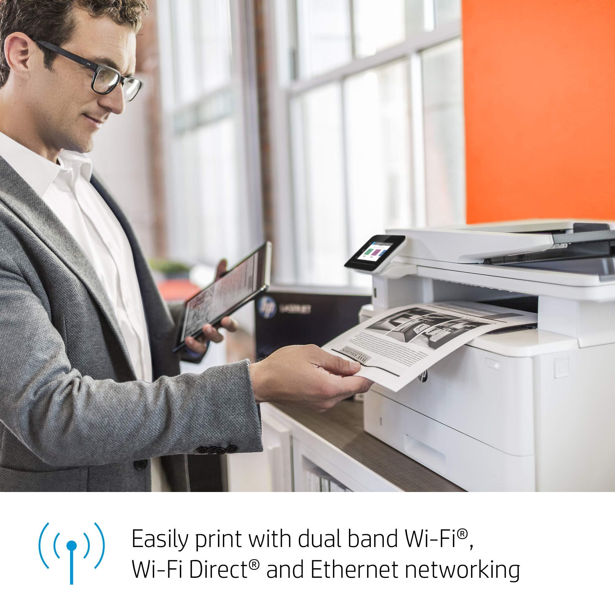 HP LaserJet Pro Multifunction M428fdw Wireless Laser Printer (W1A30A) by HP (Image #7)