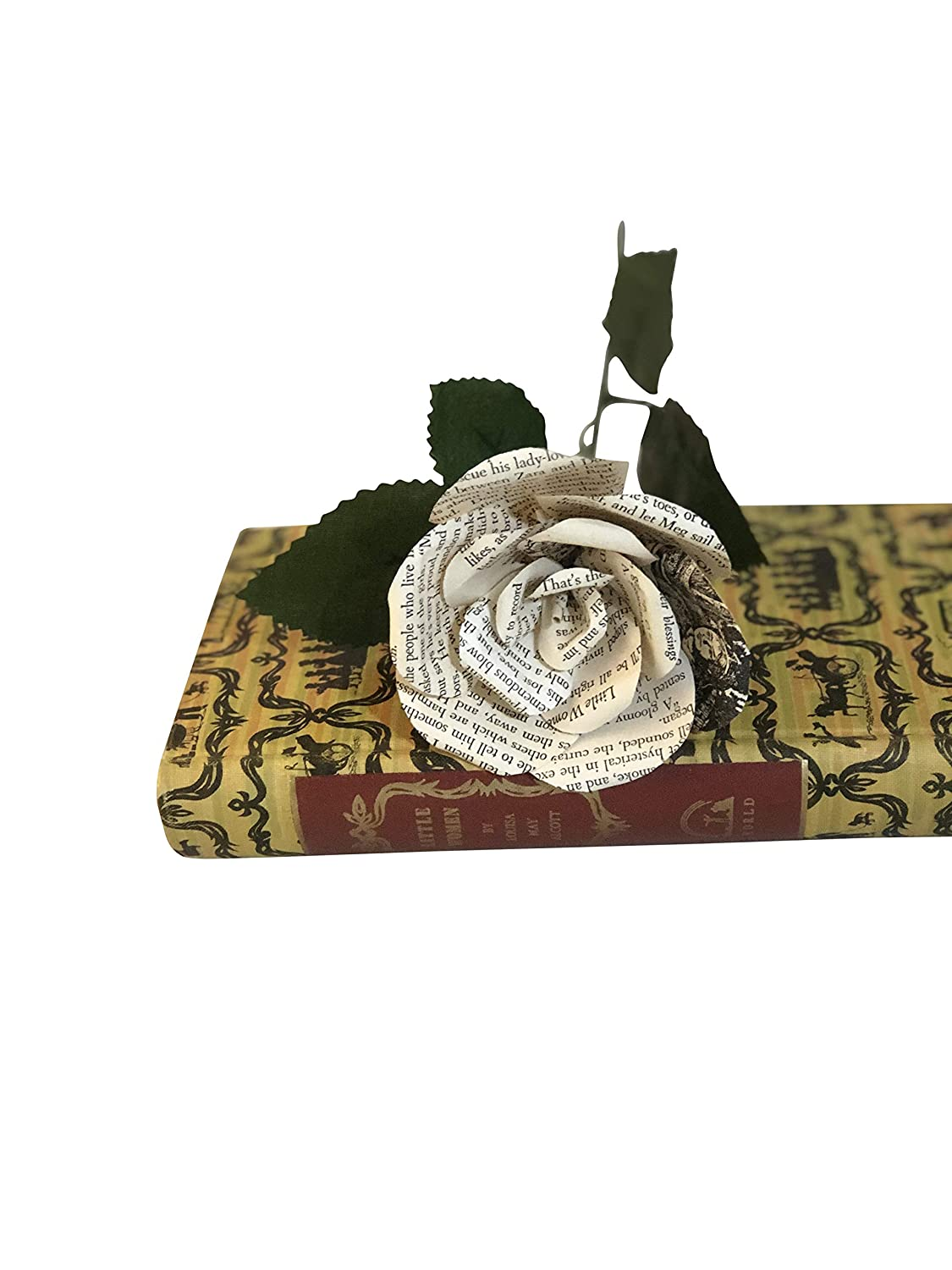Book Flower made from Little Women in Size Small 3