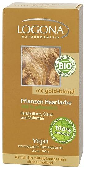 ba6d2f890 Logona Hair Colour, Golden Blonde 100 g: Amazon.co.uk: Beauty