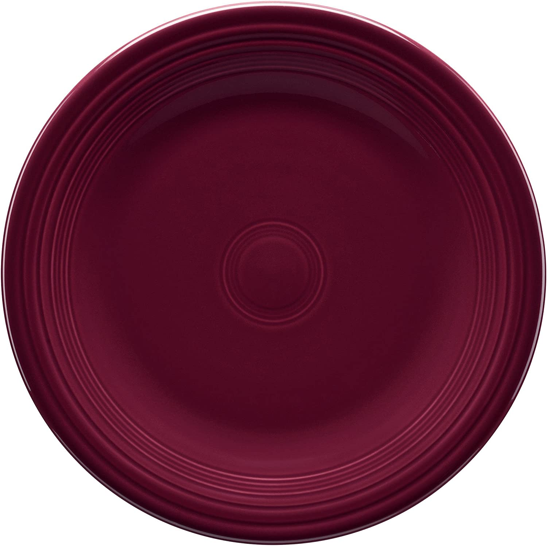 s Homer Laughlin FIESTA CLARET Salad Plate