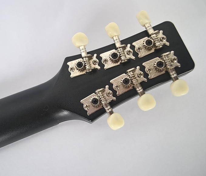 Clearwater Guitarra de viaje híbrida guitarra y ukelele de ABS ...