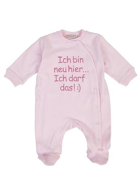 Milarda - Pelele - para bebé niña rosa 56