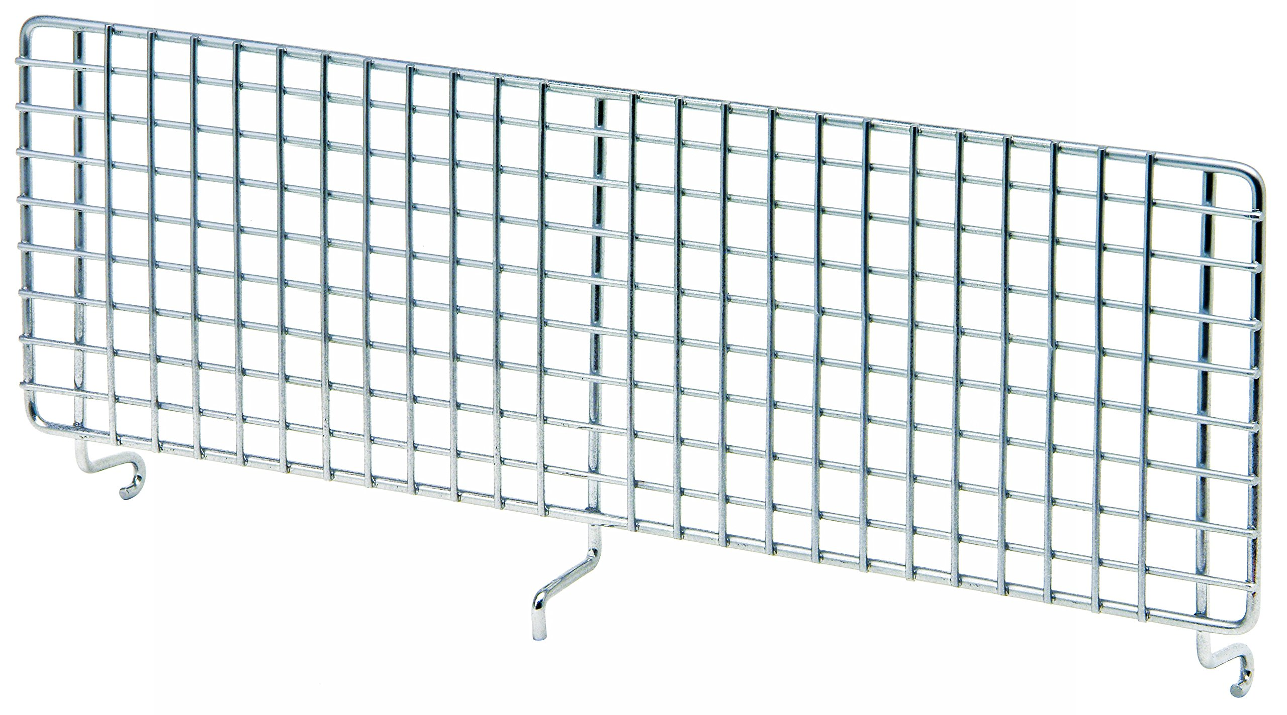 Quantum Storage Systems 4X15HBD Hanging Basket Dividers for Wire Partition Wall System Units, 15'' x 4-1/2''