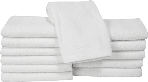4 new hotel bath towels econ grade 24x48 100/% cotton new unused heavy duty