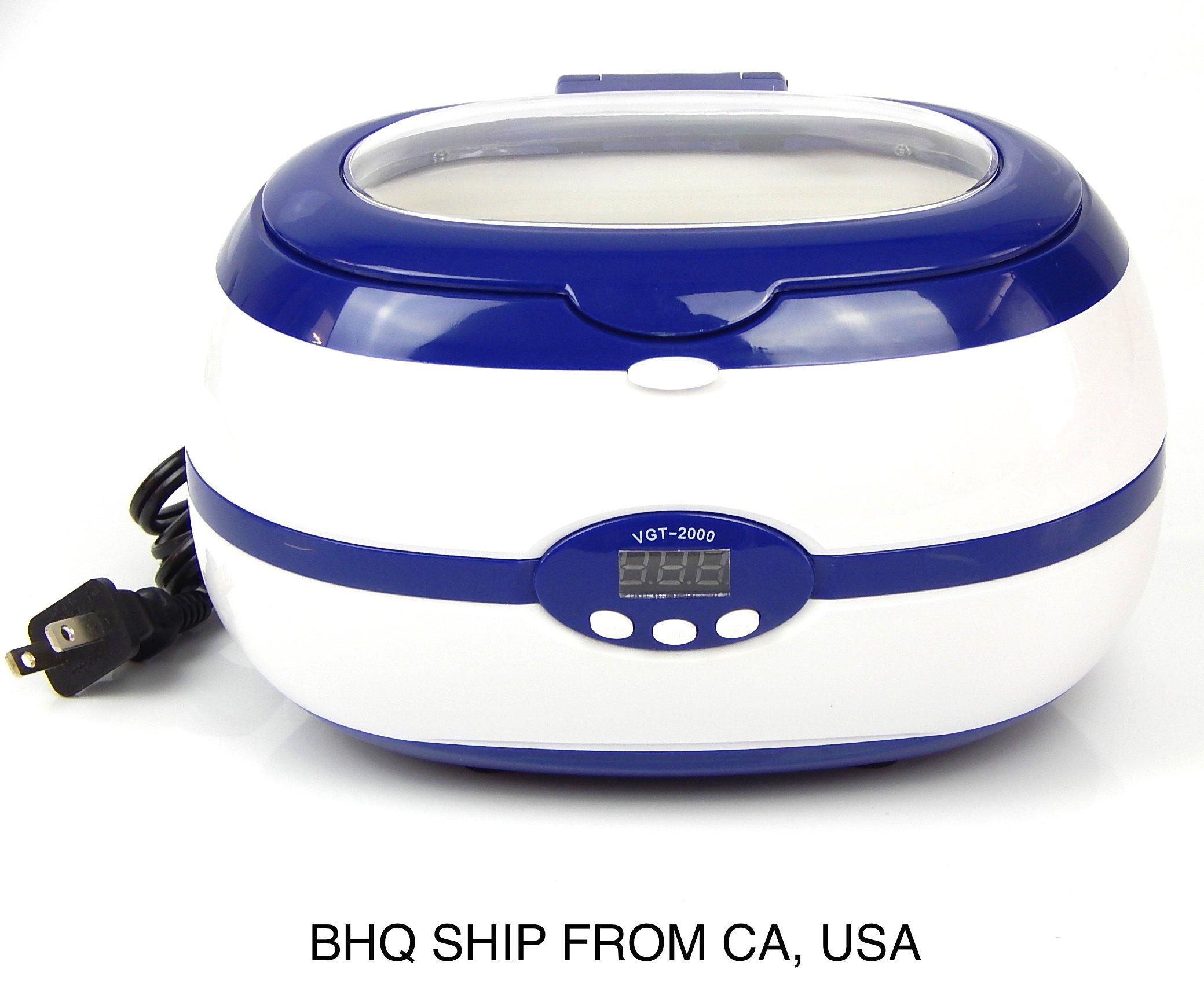 NEW Digital Ultrasonic Cleaner 0.6 Liters 600ml Capacity / Tattoo Equipment
