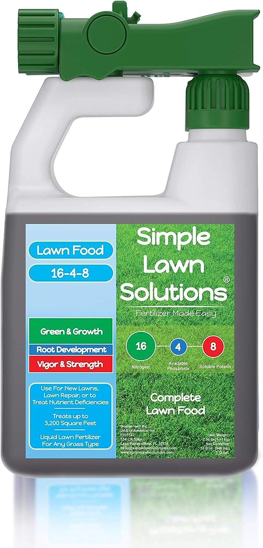 Advanced 16-4-8 Balanced NPK - Lawn Food Quality Liquid Fertilizer