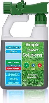 Simple Lawn Solutions Advanced 16-4-8 NPK Fertilizer For Green Grass