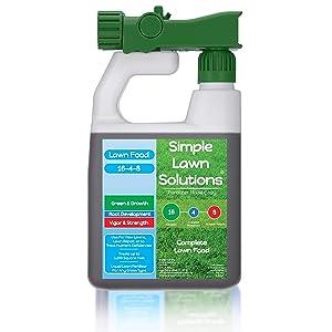 Simple Lawn Solutions Advanced Lawn Fertilizer