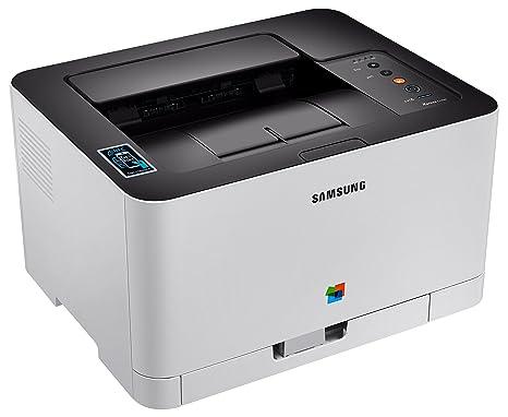 Samsung SL-C430W/SEE - Impresora láser, Color Blanco: Samsung ...