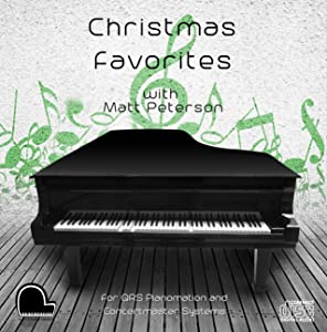 Christmas Favorites - QRS Pianomation and Baldwin Concertmaster Compatible Player Piano CD