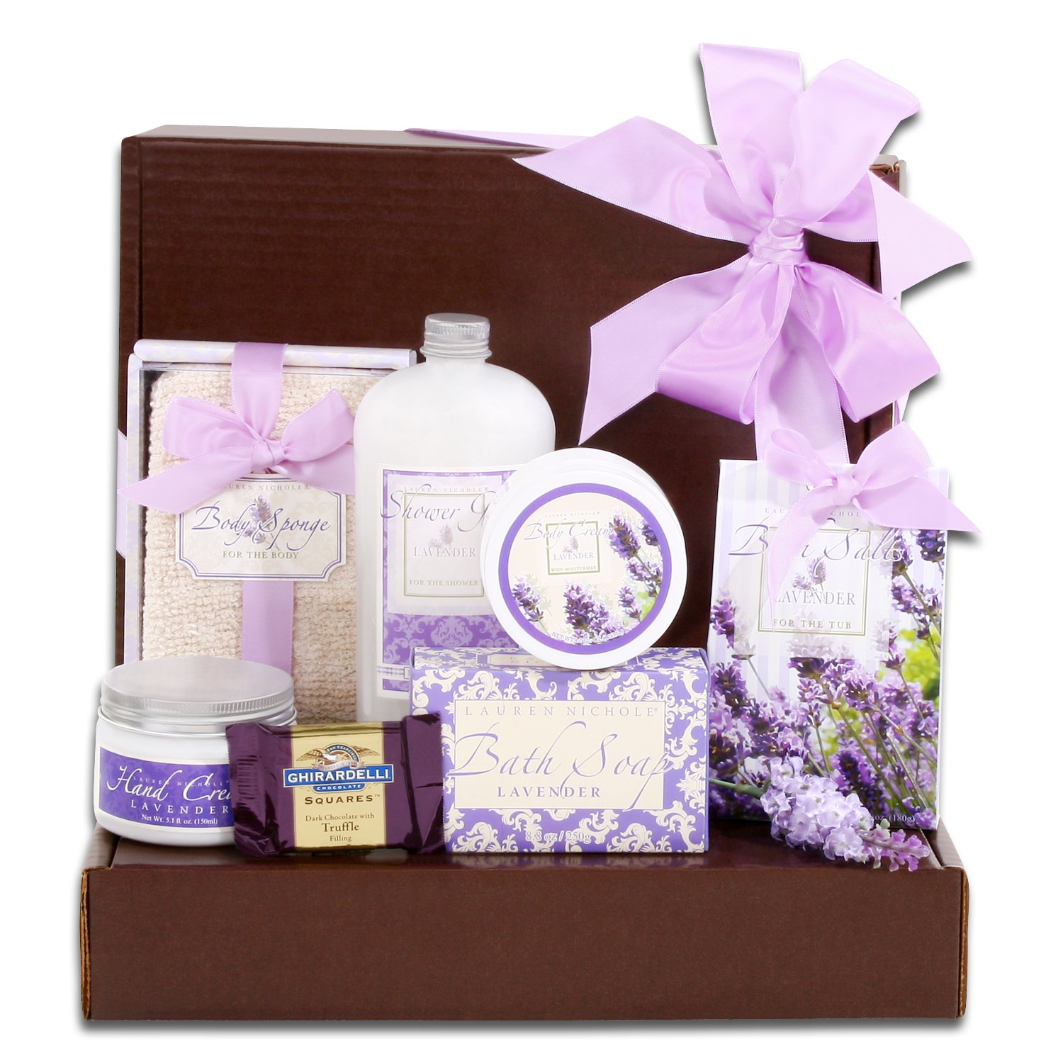 Time for You Lavender Spa Gift The Gift Basket Gallery FG07318TYGB
