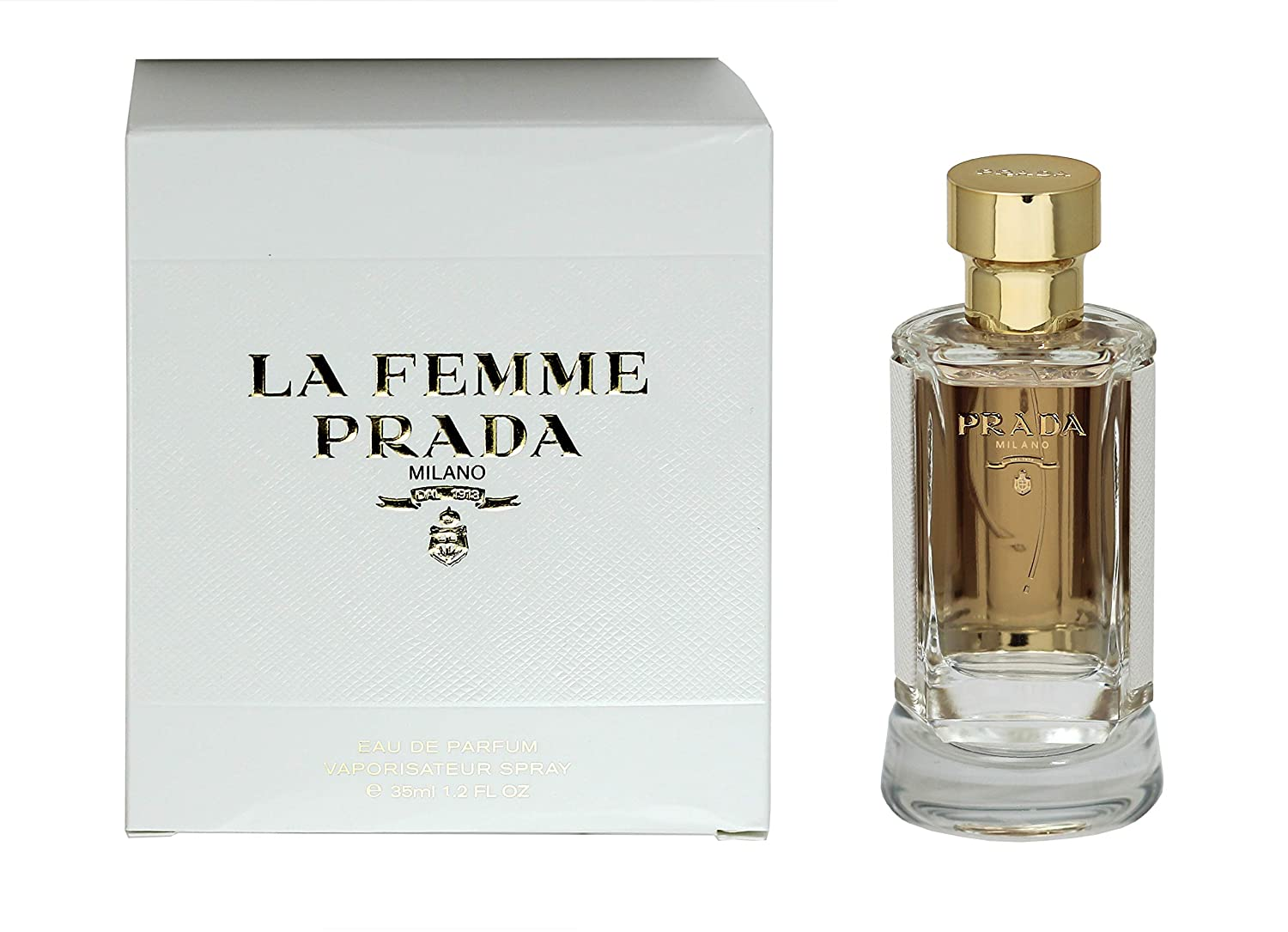 faa528f3fca17 Amazon.com  Prada La Femme Eau de Parfum 1.2oz (35ml) Spray  Clothing