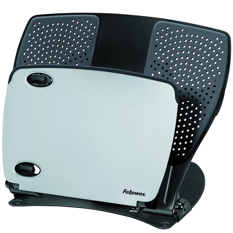 """Fellowes XL - Soporte para portátil de 17"""" con ventilador, color negro 8018901"""