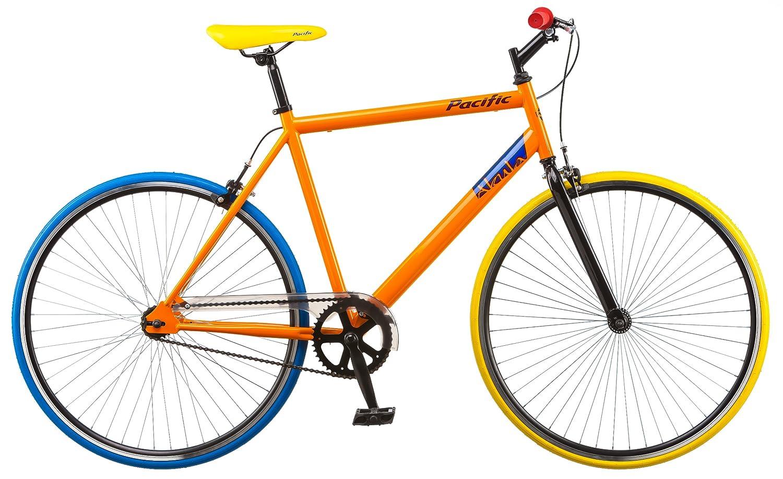 Pacific Akula Fixie Bike, Orange