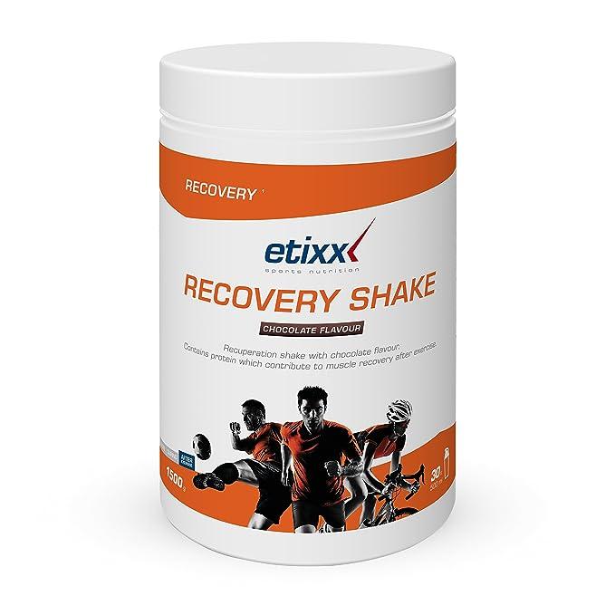 Etixx Recovery Shake Chocolate Batido de Recuperación - 1500 gr: Amazon.es: Salud y cuidado personal