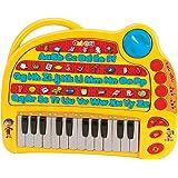 Lexibook Mon ABCédaire Oui-Oui, Piano, Musical et éducatif, Français, 4 modes (Apprentissage, Quiz, Musical, Mélodies)
