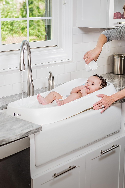 Amazon.com : 4Moms Infant Tub, White : Baby