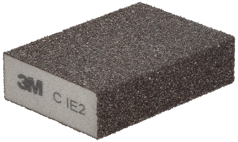3M Standard Sponge Light Grey 100mm x 68mm x 26mm Coarse ( Pack of 24 ) DC272924358