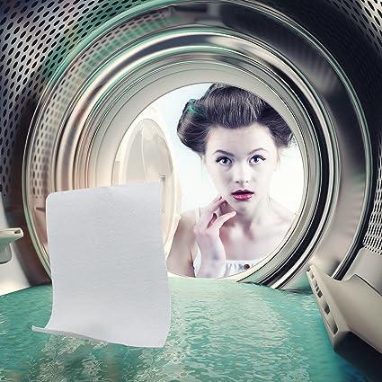 Hojas de lavandería detergente, detergente 3 en 1 (Super ...