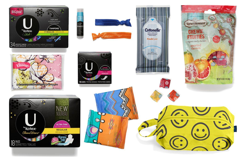 Signature - Kit de período Trust helloflo a la asistencia para todos tus necesidades con este Menstrual Paquete. El mejor de la mejor, usted y su cuerpo ...