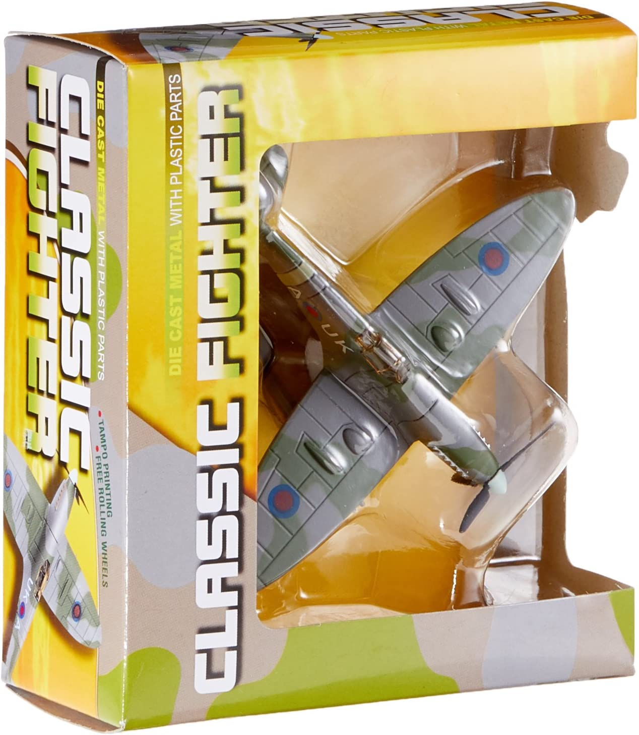 Richmond Toys 111213 Spitfire Classic Fighter Green//Grey
