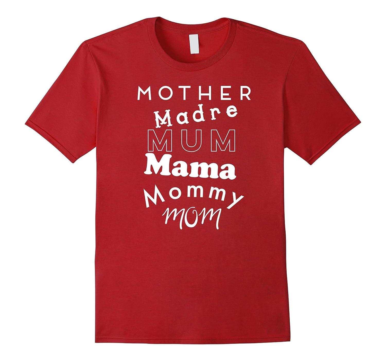 ec361bacc663 Cute Mommy Names Madre Mum Mama Fun T Shirt-TH - TEEHELEN