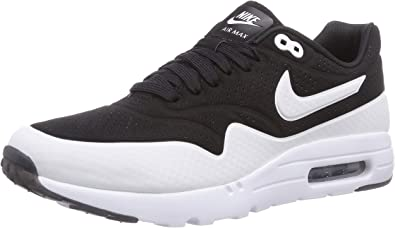 Nike Air Max 1 Ultra Moire Zapatillas de running, Hombre, Negro / Blanco (Black/Black-White), 47,5: Amazon.es: Zapatos y complementos