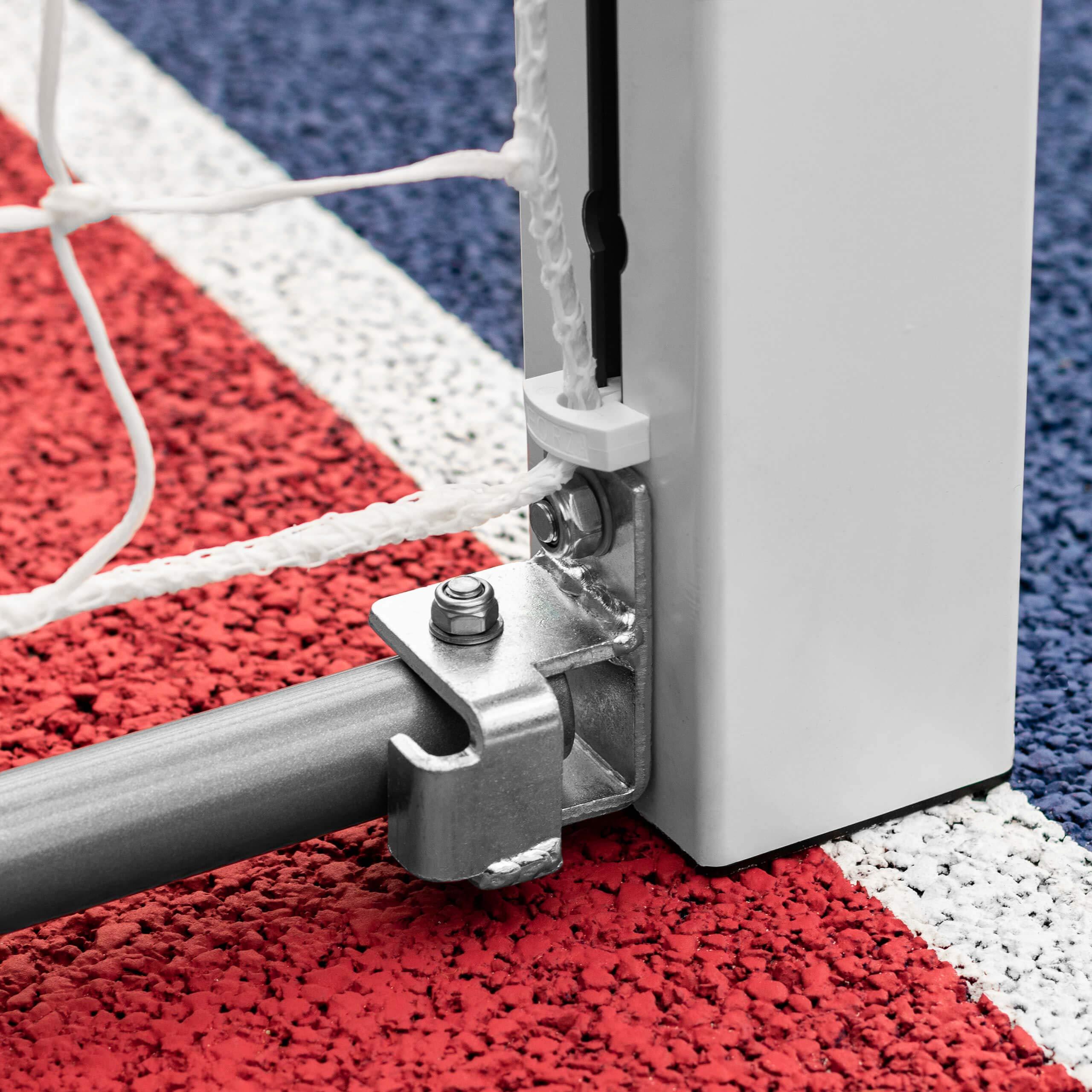Forza Alu80 Competition Handball Goals | IHF Regulation Size 3m x 2m Handball Goal [Net World Sports] (Pair, Red) by Forza (Image #7)