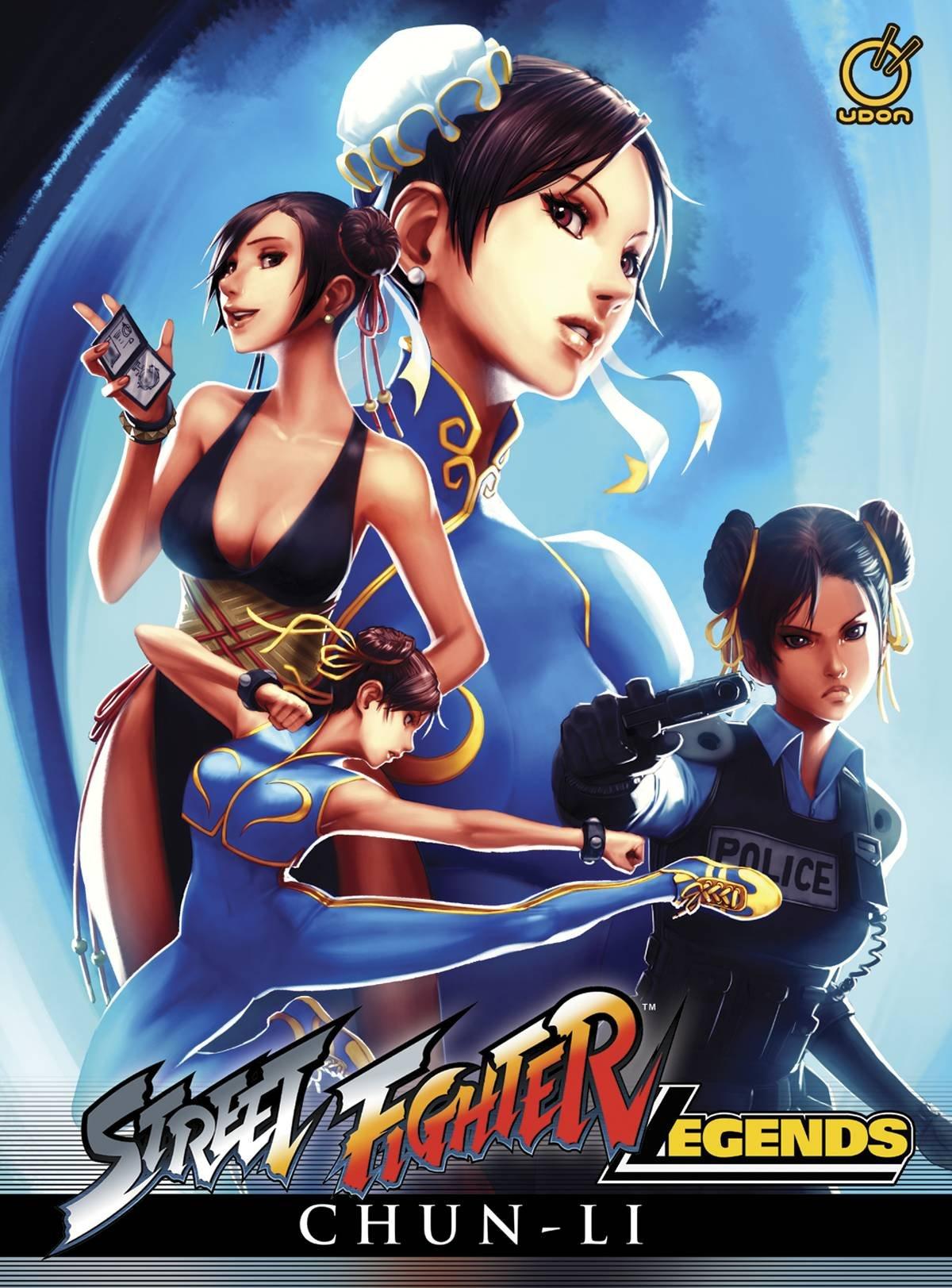 Street Fighter Legends Chun Li Ken Siu Chong Omar Dogan