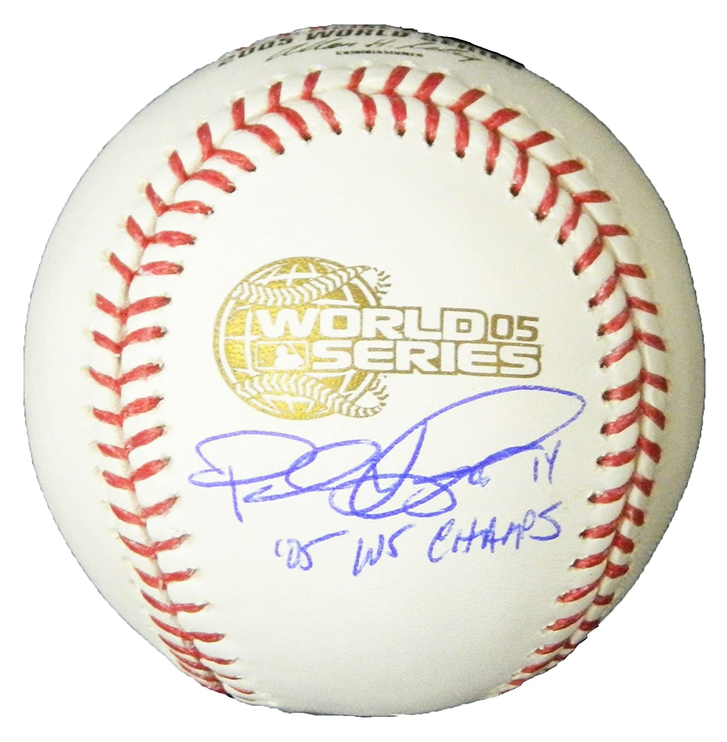 Paul Konerko Signed Rawlings Official 2005 World Series Baseball w/05 WS Champs