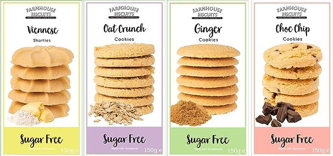 Farmhouse Biscuits Sugar Free Cookies - Selección de galletas ...