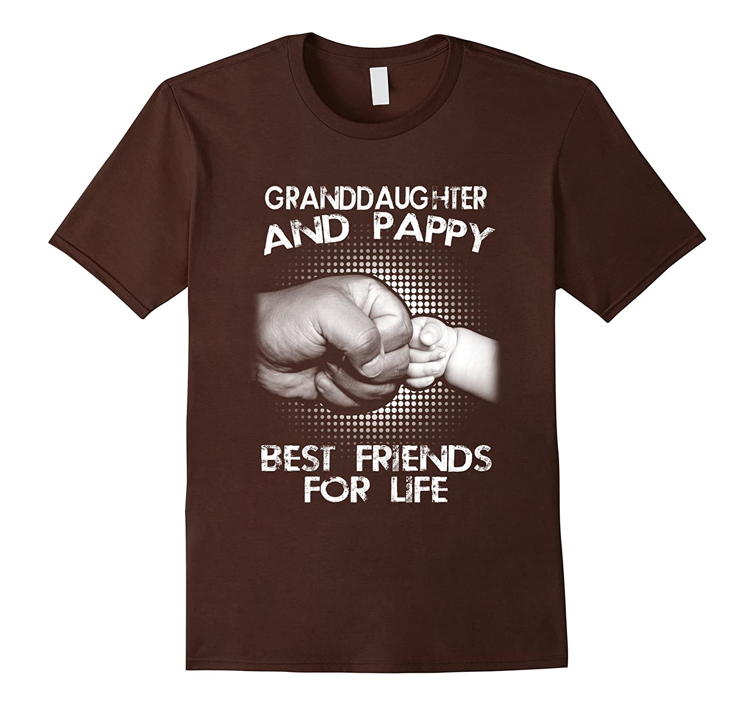 G- Granddaughter And Pappy Best Friends For Life T-Shirt