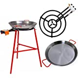 Amazon.com: Burner with rolling stand and 42cm Paella Pan