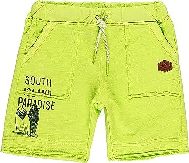 boboli - Pantalones Cortos de chándal para niño (algodón), Color Verde Eucaliptus 140: Amazon.es: Ropa y accesorios