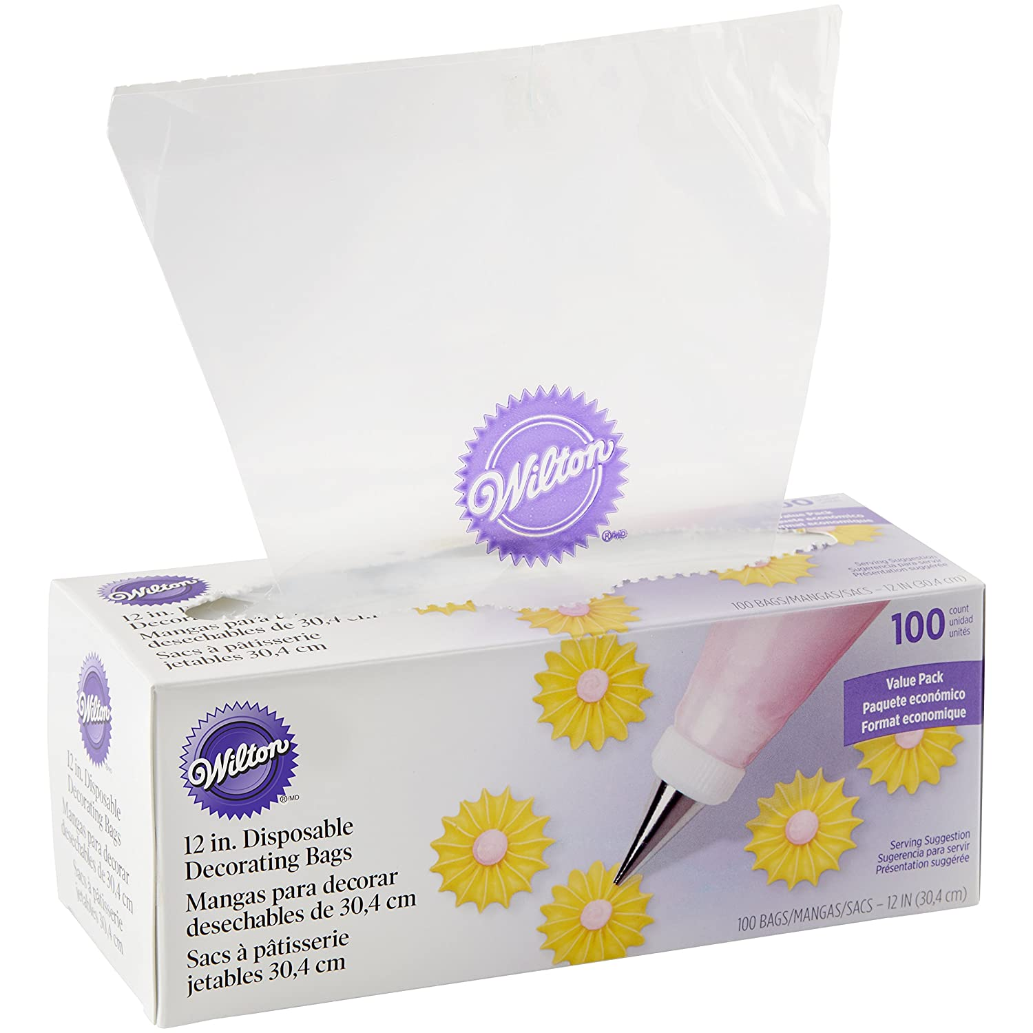 Wilton 100pack Disposable Decorating Bags Ebay