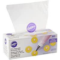 Wilton Disposable Decorating Bags, 12-Inch, 100-Pack, Cake Decorating Supplies