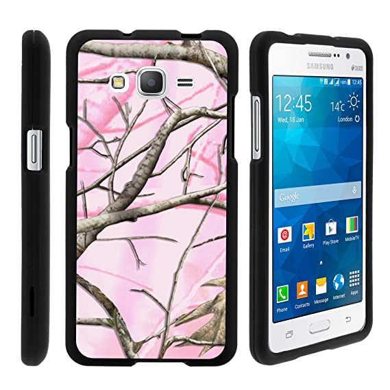 check out b9ba3 92abf MINITURTLE Case Compatible w/ Galaxy Grand Prime Case, Perfect Fit Cell  Phone Case Hard Cover w/ Cute Design Patterns
